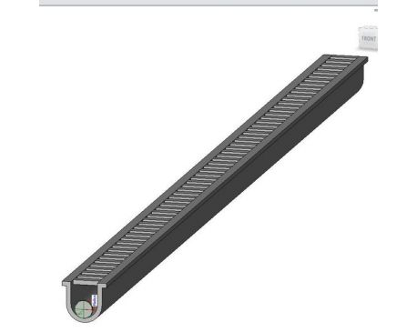 Trench Drain For Revit