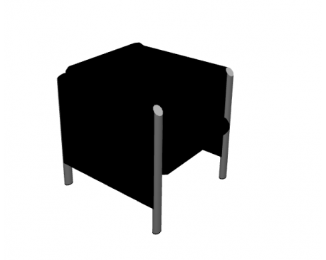 Cubis Chair For ArchiCAD