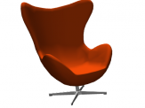 Egg Chair For ArchiCAD