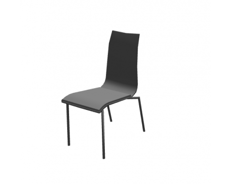 Fora Form Toko Chair For ArchiCAD
