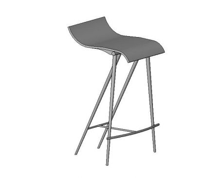 Bar Stool Revit Family
