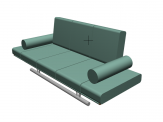 Fagus Sofa For ArchiCAD