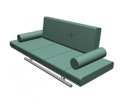 Fagus Sofa For ArchiCAD