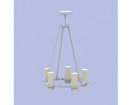 Modern Round Chandelier Light - modlar com
