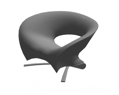 Fora Form Loop Chair