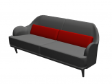 Cumulus sofa for ArchiCAD