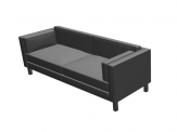 Fora Form Manhattan sofa object