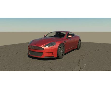 Aston Martin DBS Revit family