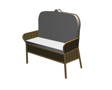 Wicker coach for ArchiCAD