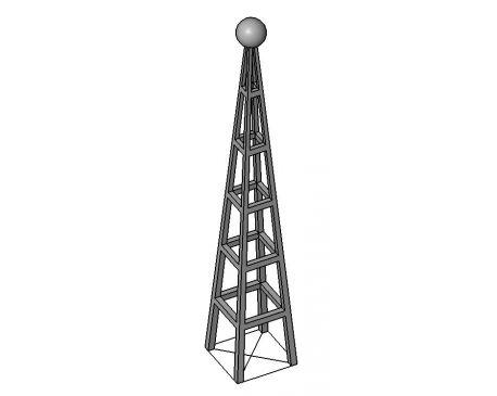 Radio tower Revit family - modlar com