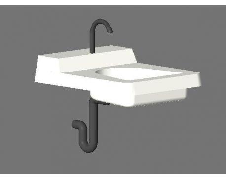 Bathroom Sinks Revit ada hand sink for revit - modlar