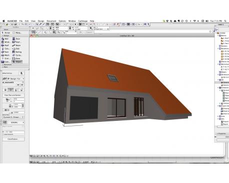 Background House For ArchiCAD - modlar com