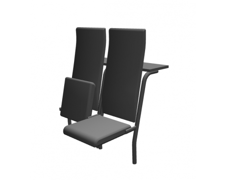 Audio chair combined seating
