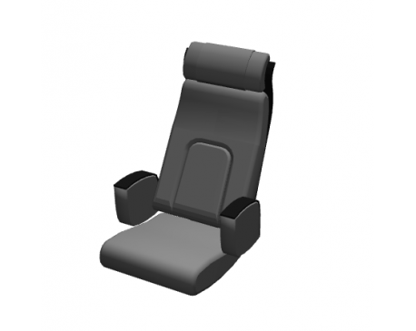Syntese chair object for ArchiCAD
