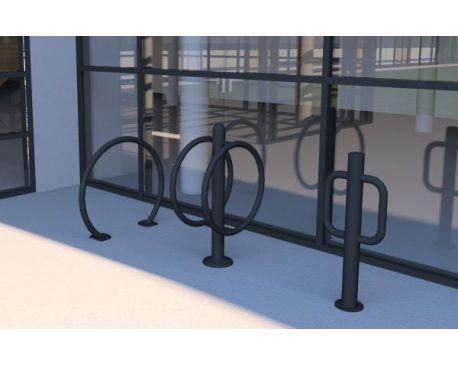 Barco bike racks Revit family - modlar com