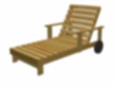 Parametric Sun lounger for ArchiCAD