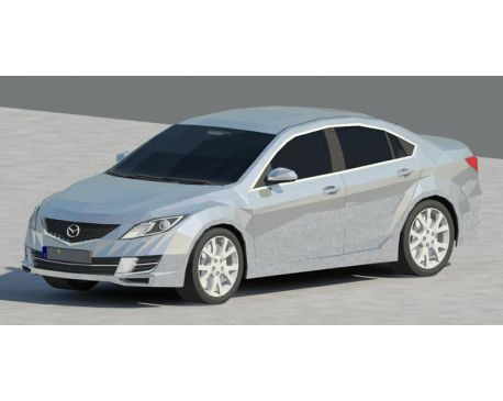 Mazda 6 for Revit Architecture 2011