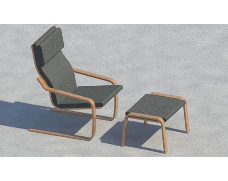 Chair and stool for Revit Architecture 2011 modlar