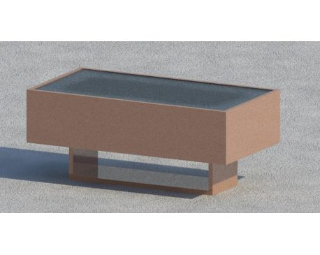 Coffee table 02 for Revit Architecture 2011