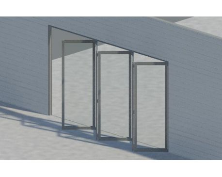 Bi Fold Door For Revit Architecture 2011 Modlar Com