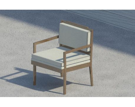 Arm Chair For Revit Architecture 2017 Modlar