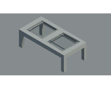 Coffee table 04 for Revit Architecture 2011