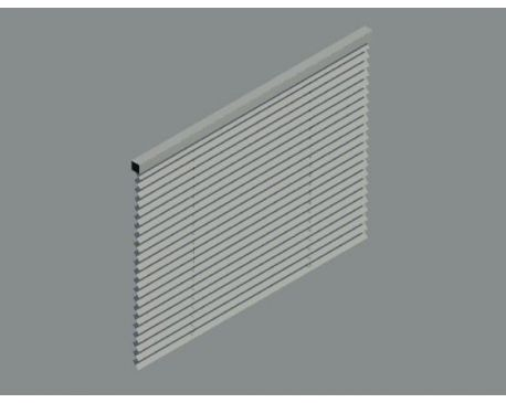 Window blind for Revit Architecture 2011