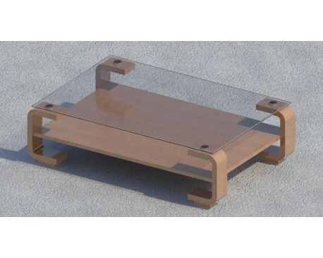 Coffee table 01 for Revit Architecture 2011