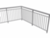 Adjustable 3D railing for ArchiCAD