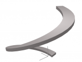 Curved ramp objects for ArchiCAD