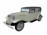 Vintage car for ArchiCAD