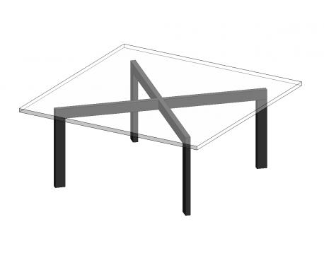 Mies Coffee Table Mies Coffee Table