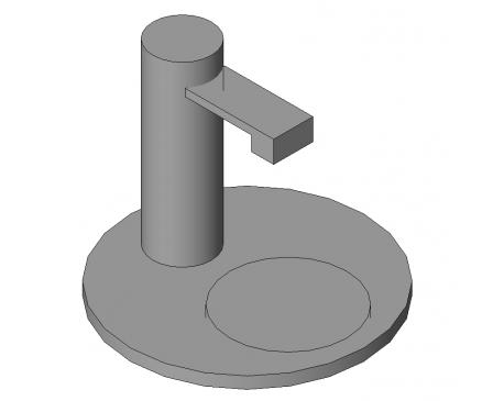 Hydro tap and drip tray - modlar.com
