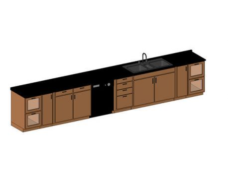 Revit Counter U0026amp; Sink