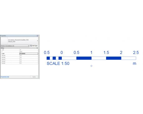 Scale Bar Revit 2012