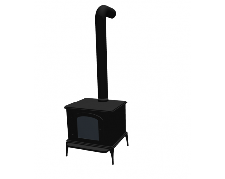 Wood Stove For ArchiCAD
