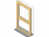 Parametric 2 pane window for Revit