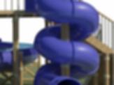 800 wide Spiral slide