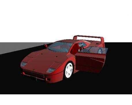1987 Ferrari F-40(parametrical car)