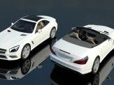 012 Mercedes SL R231 - Car Automobile Vehicle Convertible