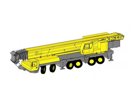 350 Ton Crane