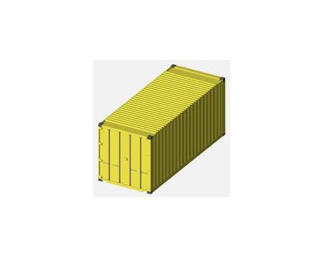 20' Standard Height Cargo Container