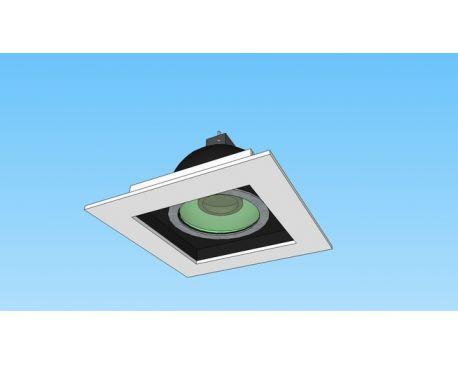Spot light fersa f1045 (modified) - Spots encastres - Carres