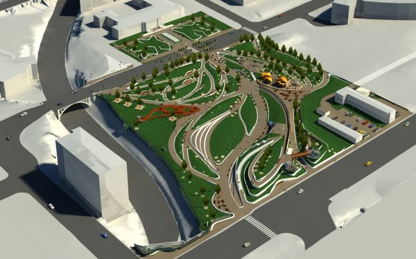 Creation of BIM Models with LOD-300 for a Reputed Public Park
