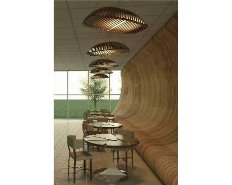Modern lighting & chair & table