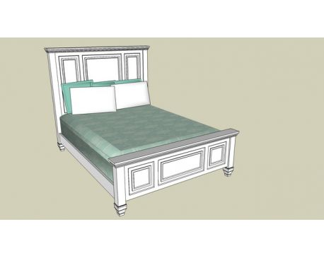 Panel Bed Queen - Glenmore