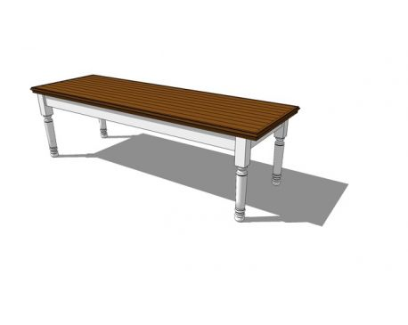 NIne-foot-long table