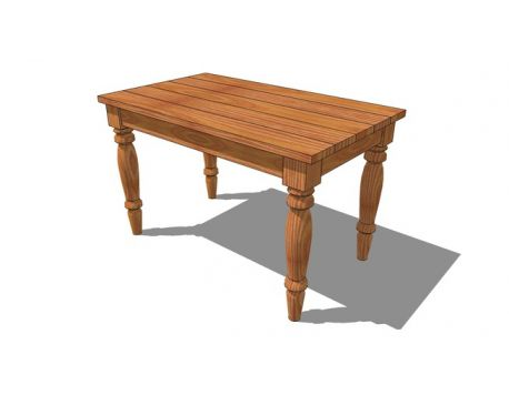 Traditional Farmouse Table