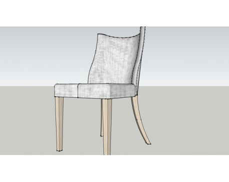 French Barrelback chair