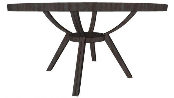 Round Dining Table - modlar com